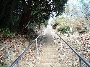 うわぁ~いきなり階段かよ.jpg