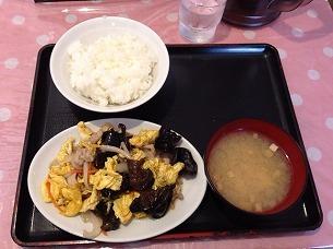 キクラゲ玉子炒め定食.jpg