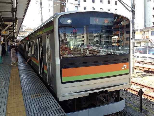 八王子駅の八高線.jpg