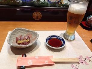 生ビール&蛍烏賊.jpg