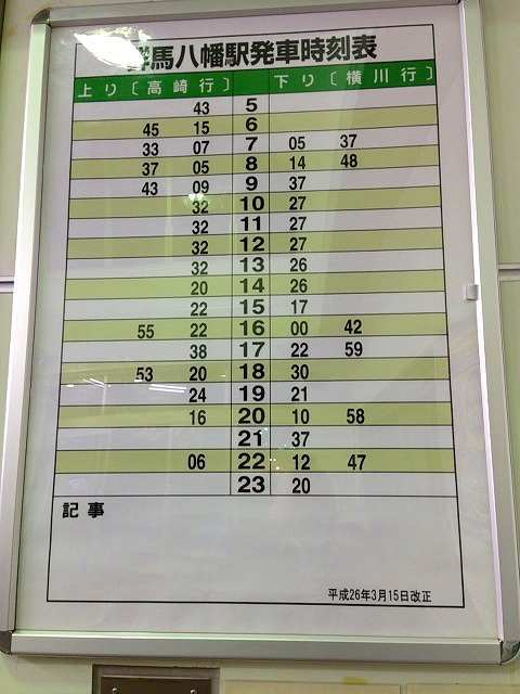 群馬八幡駅時刻表.jpg