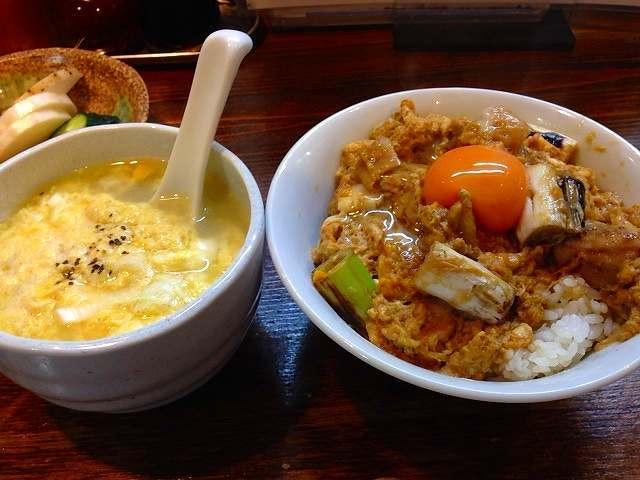 親子丼&鶏スープ.jpg